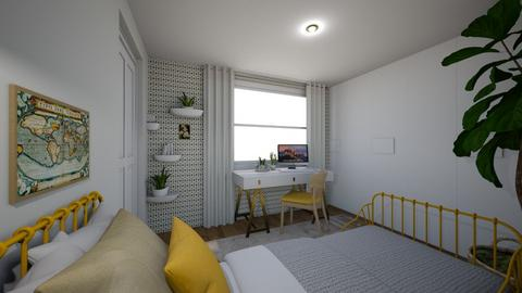 Light and airy dorm room  - Eclectic - Bedroom - by Ster