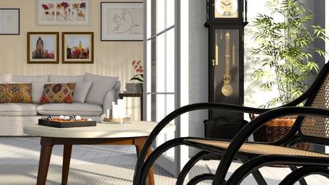 Grandfathers_Clock - Living room - by ZuzanaDesign