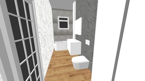 a - Bathroom - by krosowiec
