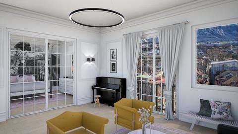 Zurich Piano - Living room - by littlewhitedesign