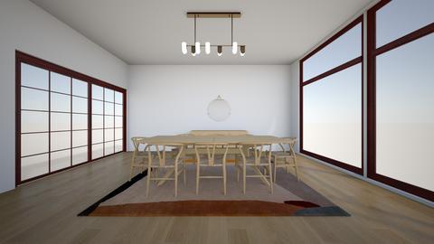Paulina Oak  - Dining room - by karlitajmlm