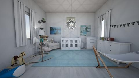 Baby Boy Nursery - Modern - Kids room - by cbruno23