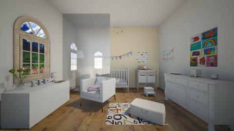 Baby nursery - Modern - Bedroom - by jana krstic