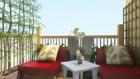 spark of Green 8 - Minimal - Living room - by herjantofarhan