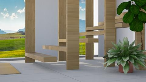 Wooden Stairs - Modern - by millerfam