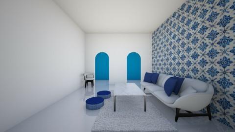 GreekIsland - Living room - by Josipabaricc