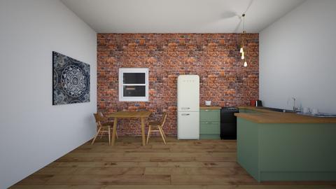 kitchen - by hollison27