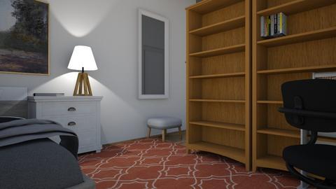 Nicolas - Bedroom - by Marithenia
