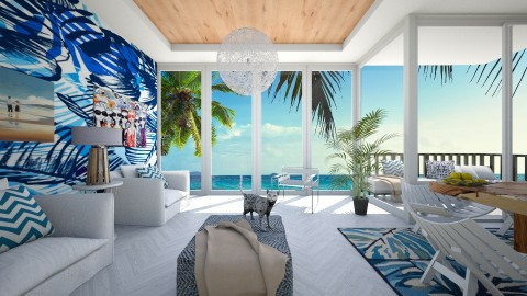 Tropical patterns - Modern - Living room - by bgref
