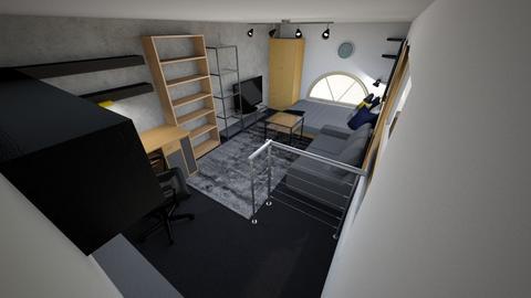 STU  - Modern - Bedroom - by juicyjulcsi