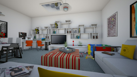 For Nikki - Eclectic - Living room - by Theadora