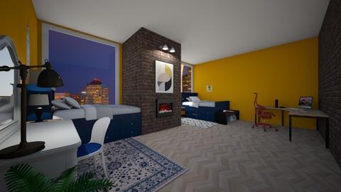 Haring Oak - Living room - by Seattle2424