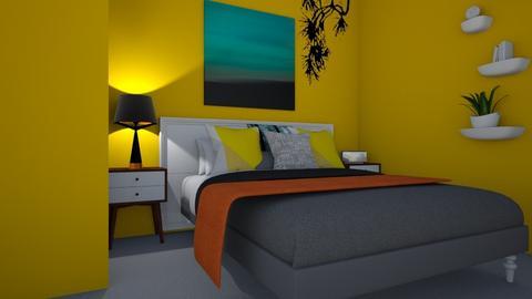 tropical bedroom - Bedroom - by Una Wardrop