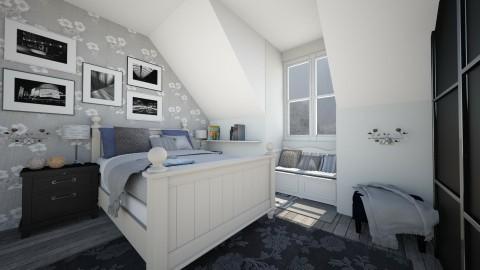 Attic bedroom - Vintage - Bedroom - by Bee0196