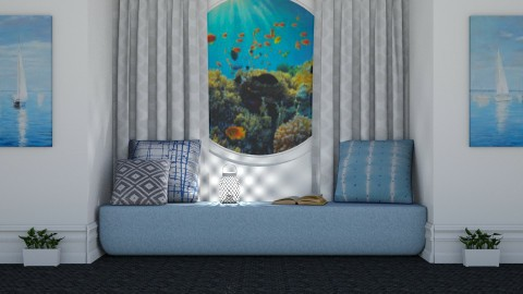 Under the Sea - Living room - by millerfam