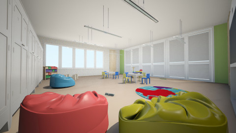 obdaniste - Kids room - by Katarina Bogosavac