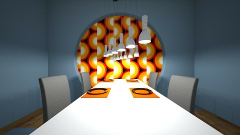 Almost Planetary - Modern - Dining room - by XiraFizade