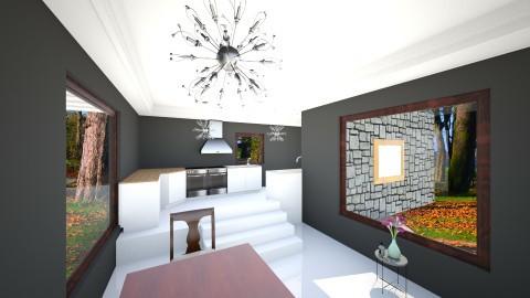shadow kitchen - Modern - Kitchen - by Alex Jacobs_152