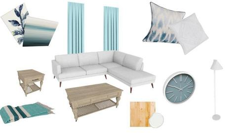 Coastal Living Room - by Sprinter in Blue