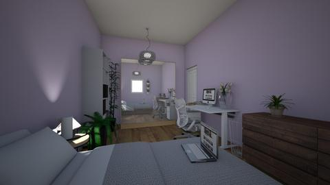 room - Modern - Bedroom - by ieva414