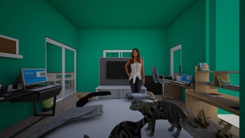 My dream bedroom - Bedroom - by LillyKittyKitKat