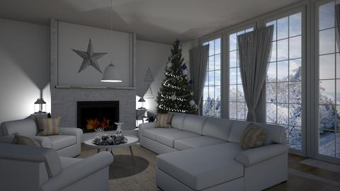 christmas - Living room - by Anet Aneta Kucharova
