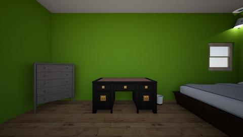 A cool bedroom - Modern - Bedroom - by ellamcspella