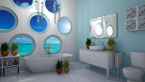 Seaside Bath - Modern - Bathroom - by millerfam