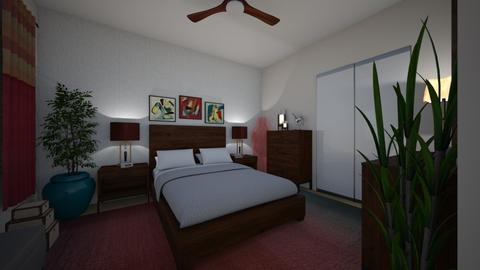 Angles - Modern - Bedroom - by almecor2311