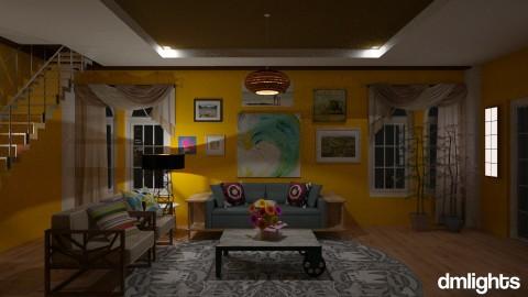 On Summer - Vintage - Living room - by DMLights-user-1347177