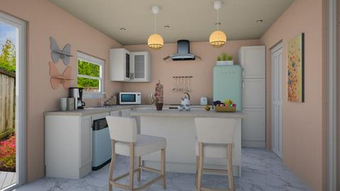 Pastel Kitchen - Modern - Kitchen - by Psweets