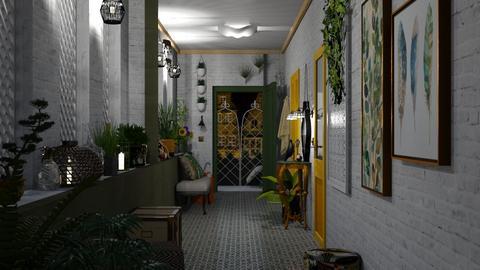 urban jungle hallway_2 - by antonia_b
