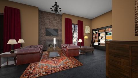LIVING ROOM - Living room - by chichi dz