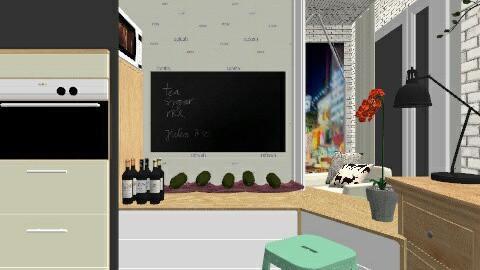 urban beat - Classic - Kitchen - by kikazsu