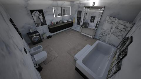 family home 43 - Glamour - Bathroom - by Stavroula Chatzina
