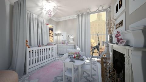 Baby coming  - Kids room - by NikolinaB26