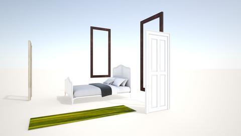 Guest Room - Bedroom - by michellebeltoart