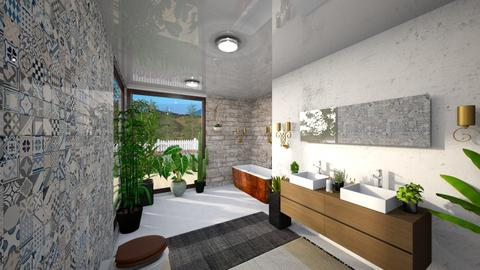 Banheiro - Bathroom - by looz27