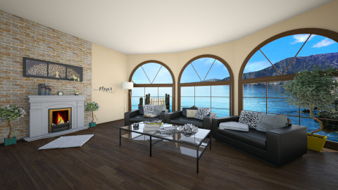 With a great view - Living room - by Design your life