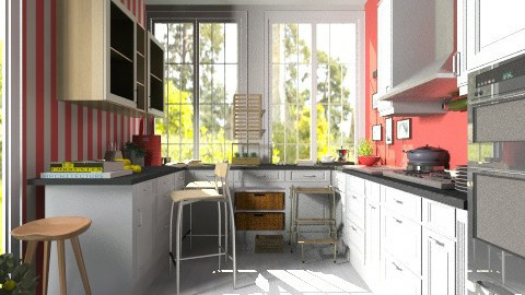 Summer kitchen - Country - by hetregent