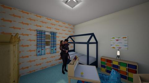 1st Floor - Modern - Bedroom - by Franciele Oliveira
