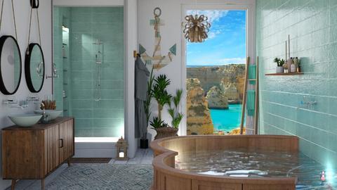 Marinho - Rustic - Bathroom - by soralobo