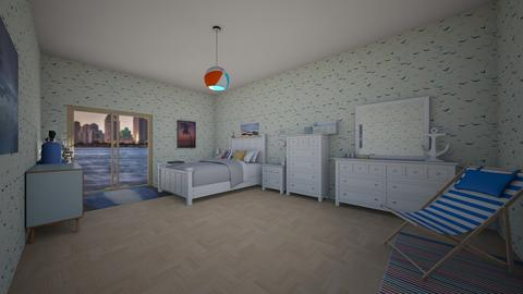 beach bedroom San Diego  - Modern - Bedroom - by jade1111