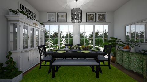 Green Dining - by Sandra Jones