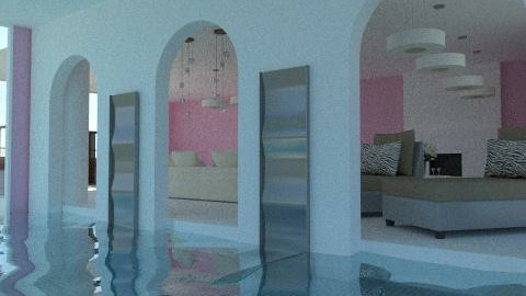 piscine interieure - Eclectic - Living room - by calu13