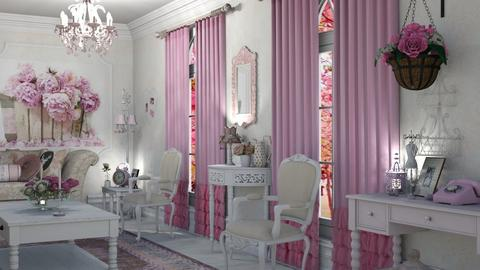 Shabby chic - Living room - by snjeskasmjeska
