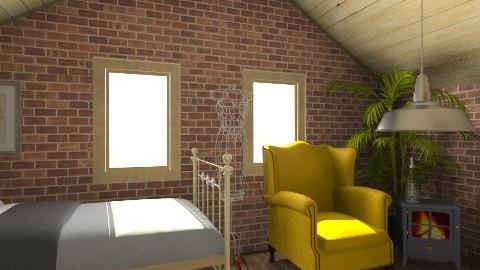 attic - Bedroom - by DanielaDeer