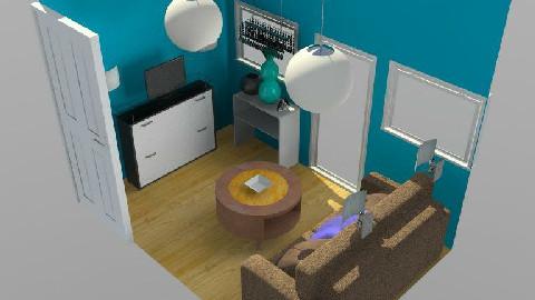 little tv room - Office - by mhernandez