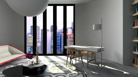 Victor Morgan Study - Minimal - Office - by 3rdfloor