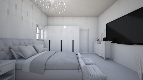 white room - Bedroom - by Jordin12